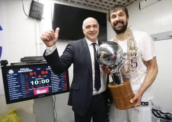 El Madrid ganó 13 títulos en 25 años y Laso lleva 12 en 5