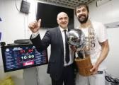El Madrid ganó 13 títulos en 25 años y Laso lleva 12 en cinco