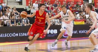 España vence a Lituania y acabará primera de grupo