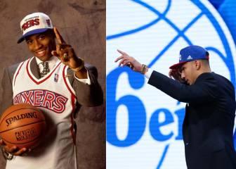 20 años después, Ben Simmons sigue los pasos de Iverson