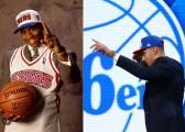 20 años después, Simmons sigue los pasos de su ídolo: Iverson