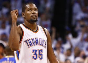 Los Thunder se despiden con mucha clase de Kevin Durant