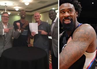 'Efecto DeAndre': Barnes firma con los Mavericks... ¡esposado!
