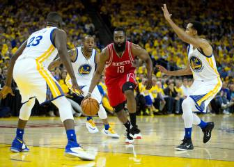 Harden avisa a los Warriors: