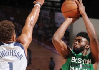 Las Vegas: Jaylen Brown (20+10) ya brilla con los Celtics
