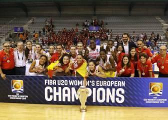 Las Sub-20 revalidan título y ya van seis oros en la categoría