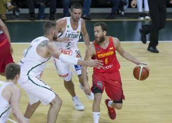 Willy y Sergio, los mejores NBA con la Selección ante Lituania