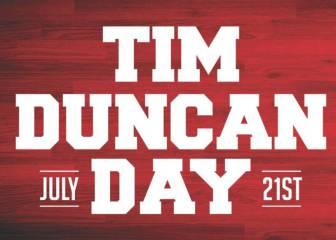 21 de julio: Tim Duncan tendrá su propio día en San Antonio
