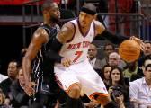 """Carmelo: """"Wade estuvo a dos días de firmar por los Knicks"""""""