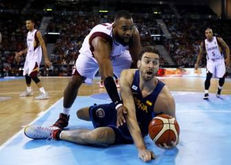 Felipe Reyes lidera a España en la victoria contra Venezuela