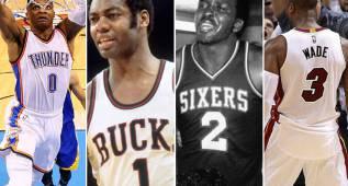 Del 0 al 50: el mejor jugador de la historia de la NBA para cada dorsal
