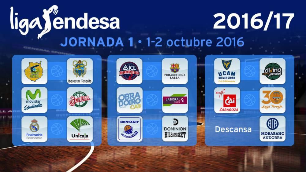 Calendario Unicaja.Calendario Acb El Madrid Arranca Ante Unicaja El 1º Clasico 5 6