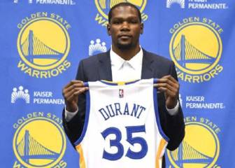 Durant volverá a OKC con los Warriors el 11 de febrero
