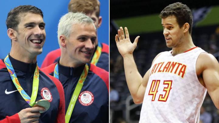 Un NBA nadaba más rápido que Michael Phelps y Ryan Lochte