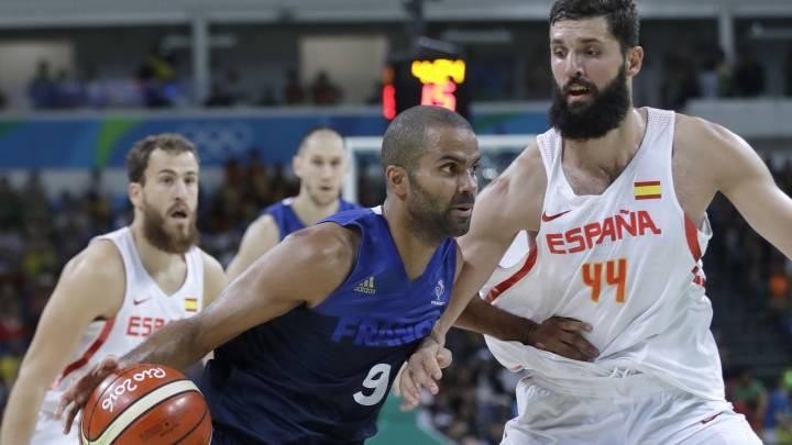 """Tony Parker: """"Hoy sentí como si España fuese los Spurs"""""""