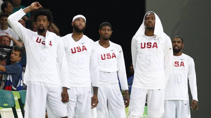 El uno a uno de EE UU: fuera manda Carmelo, dentro, Durant