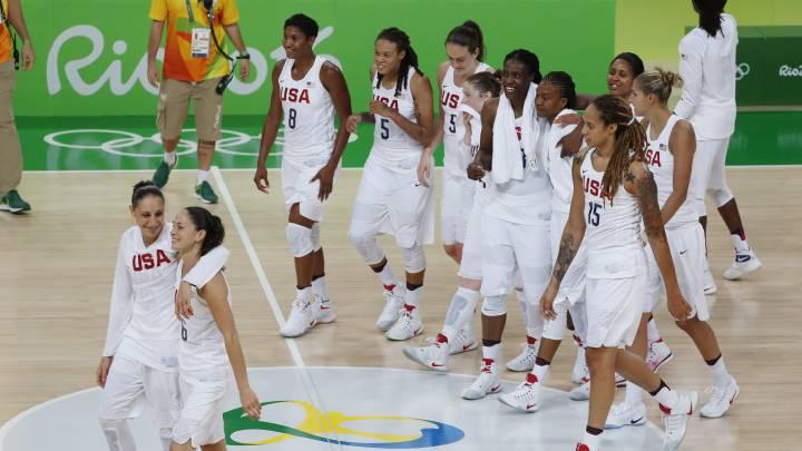 EE UU: un 'Dream Team' con mejores cifras que los chicos