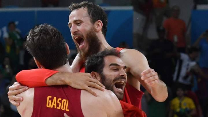 1 x 1 de España: soberbio Gasol hasta el final, decisivo Chacho