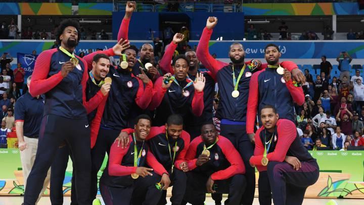 Estados Unidos pica al resto del mundo mientras Ewing reivindica al Dream Team original