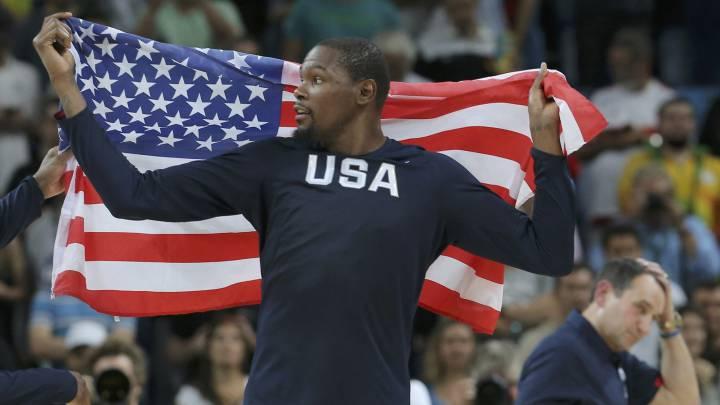 """Durant: """"Tras mi decisión, el Team USA ha sido una terapia"""""""
