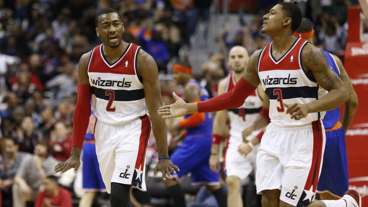 """Los Wizards pagan 39M a sus dos estrellas: """"No nos gustamos"""""""