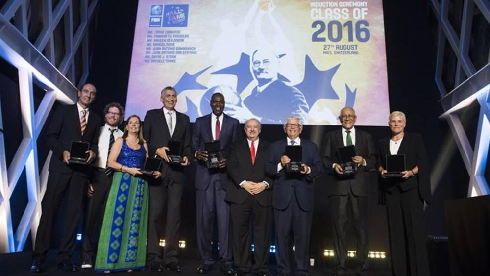 Epi entra en el Salón de la Fama FIBA junto a Olajuwon y Stern