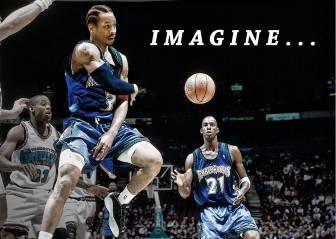 ¿Iverson y Garnett juntos? La NBA podría haber sido otra...