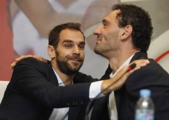Las imágenes de la despedida de José Manuel Calderón