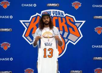 Jugar en los Knicks lo es todo para el neoyorquino Joakim Noah