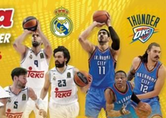 As te invita al Global Game: Real Madrid vs Thunder
