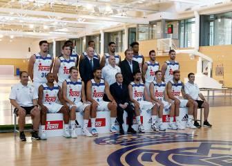 El Real Madrid se hace la foto oficial con la nueva equipación