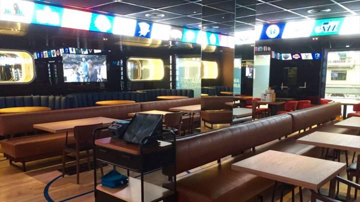 NBA Café Barcelona abre sus puertas el 26 de septiembre