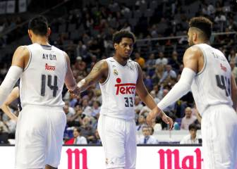 Trey Thompkins, descarte del Madrid para la Supercopa