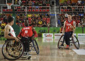 Bywater reta a los triplistas ACB desde su silla de ruedas