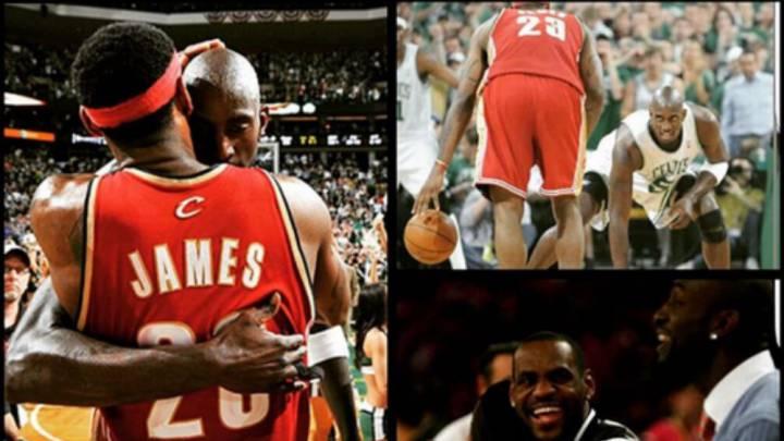 LeBron, Gasol, Towns, Curry... Así despide la NBA a Kevin Garnett