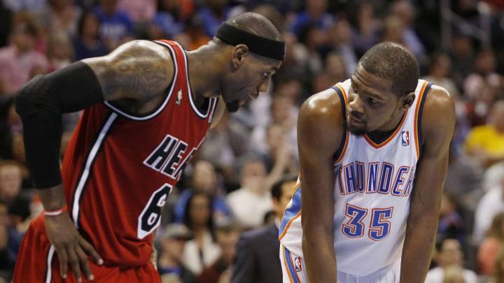 "Durant: ""LeBron James me mantiene despierto"""