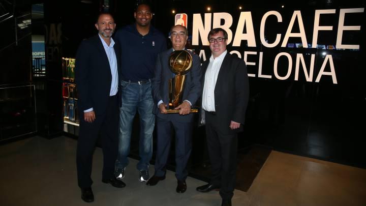NBA Café, el primero de Europa, abre sus puertas en Barcelona