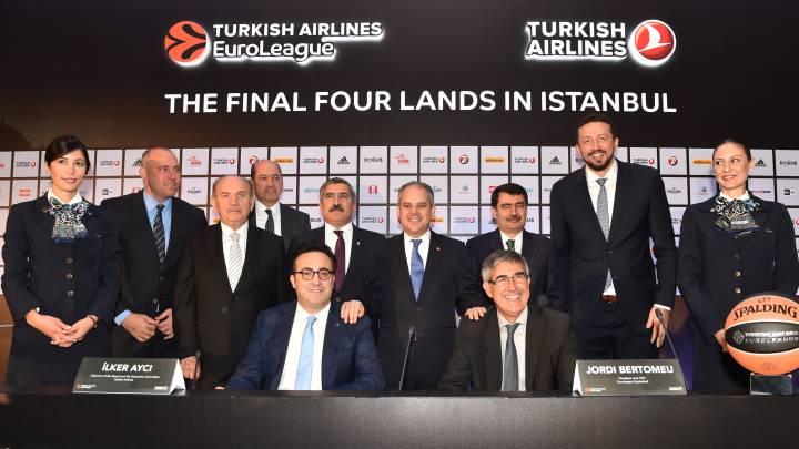 """Estambul cerrará """"una campaña histórica"""" de la Euroliga"""