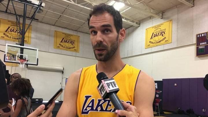 """Calderón: """"Llegar a los Lakers es un reto importante para mí"""""""