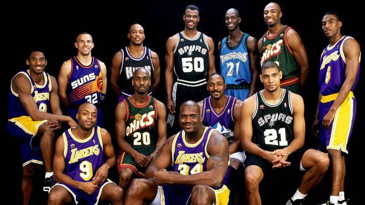 Marion da el mejor quinteto de su generación: Kidd, Kobe, Shaq...