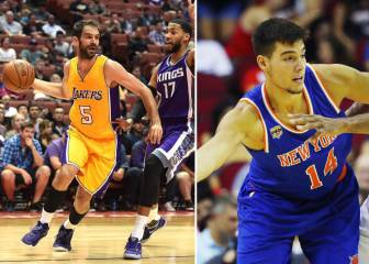 Calderón se estrena en Lakers, Willy debuta y Harden brilla