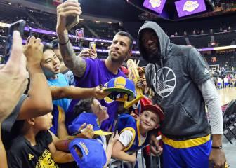 Festín de Klay, Durant y Curry ante los Lakers de Walton