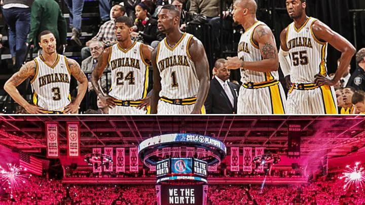 Raptors: como los Pacers 13-14, a por el '1' para batir a LeBron