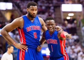 Drummond y Jackson, el eje clave de los nuevos Pistons