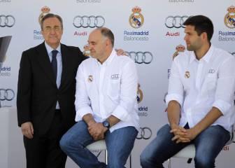Florentino le propuso a Silver que el Madrid jugase en la Conferencia Este de la NBA