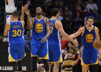 El mejor show de la NBA: 78 para el trío Curry-Durant-Thompson
