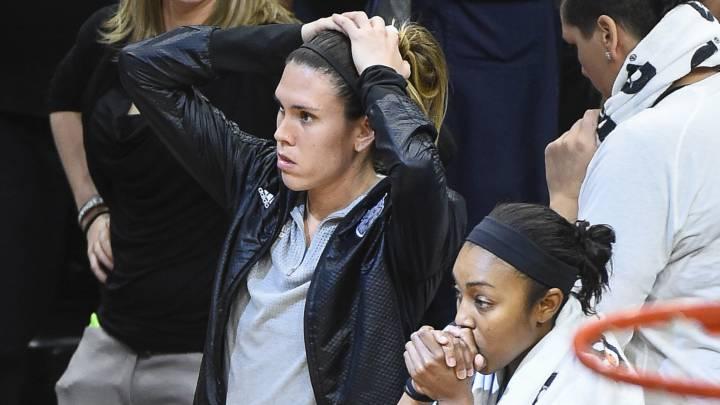 Tres segundos separaron a Anna Cruz de su segundo anillo WNBA