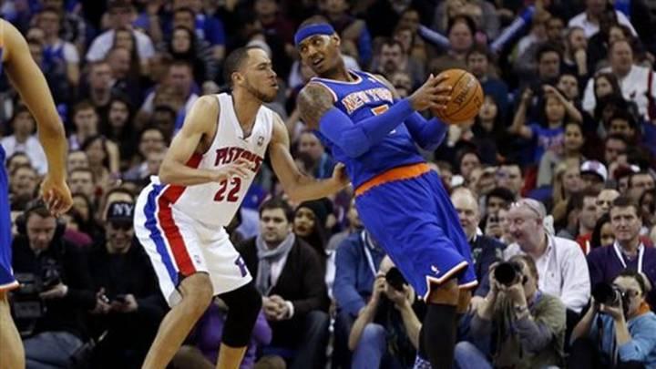 """""""Los Pistons podrían haber ganado 4 anillos más si hubiesen drafteado a Carmelo Anthony"""""""
