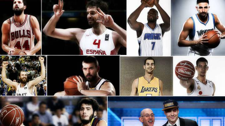 Los 10 españoles NBA cierran una pretemporada ilusionante