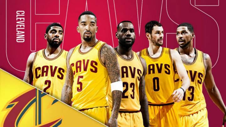 Cavaliers: el primer quinteto de 100M de la historia de la NBA